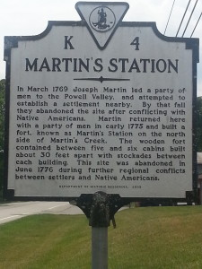 Martin's Station Sign Rose Hill